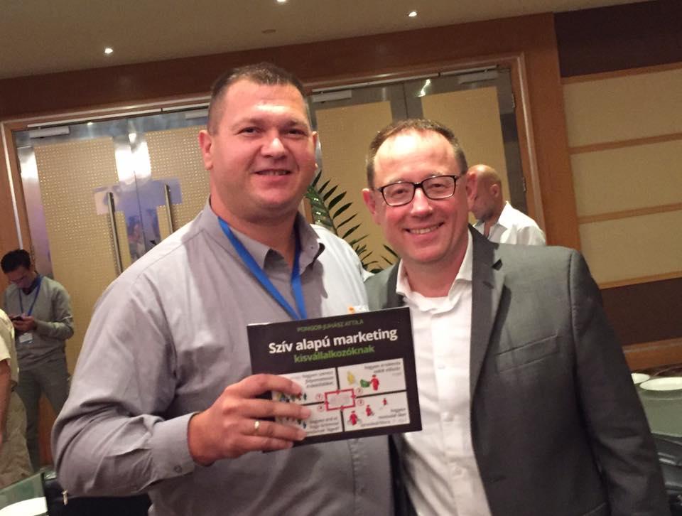 Pongor-Juhász Attilával a 10X Marketing könyv szerzőjével